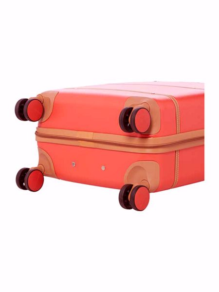 Dickins & Jones Vintage trunk red 8 wheel cabin suitcase