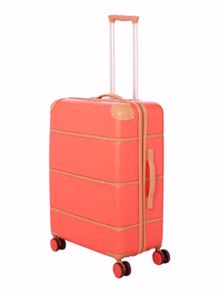 Dickins & Jones Trunk red 8 wheel medium suitcase