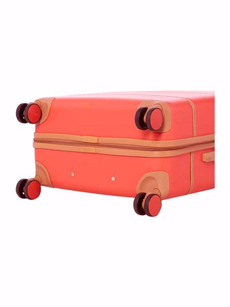 Dickins & Jones Vintage trunk red 8 wheel medium suitcase