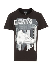 Boys Shoe Flag Tshirt