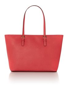 Jetset travel pink tote bag