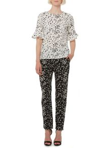 Therapy Speckle print trousers
