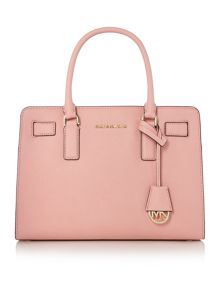 Dillon pale pink medium tote bag