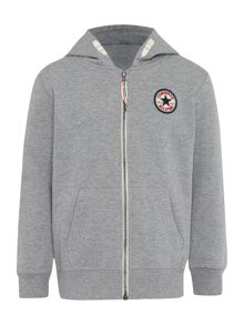 Boys All Star Logo Zip Hoody