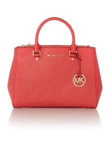 Sutton pink medium tote bag