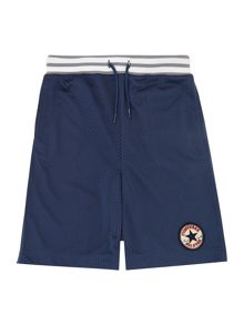 Boys Sweat Mesh All Star Logo Shorts