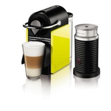 Pixie Clips + Aeroccino Black/yellow panels