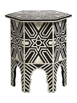 Living by Christiane Lemieux Moroccan side table