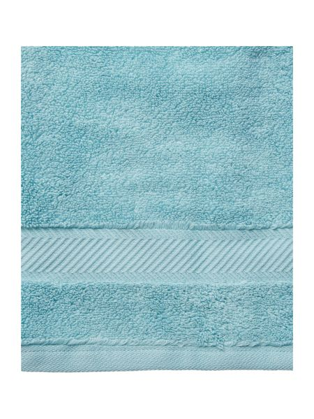 Luxury Hotel Collection Bath Sheet in Duck Egg