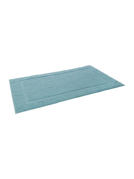 Luxury Hotel Collection Bath Mat in Duck Egg
