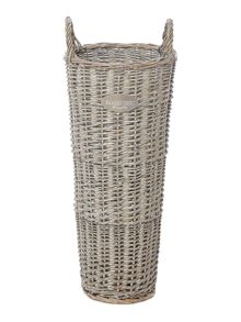Shabby Chic Willow umbrella basket
