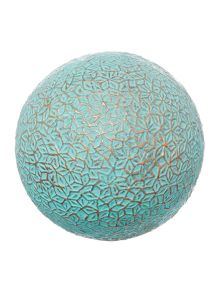 Alhambra decorative ball teal