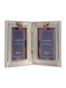 Linea Hinged Metal Photo Frame