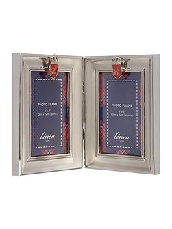 Hinged Metal Photo Frame