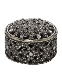 Jewelled trinket box small