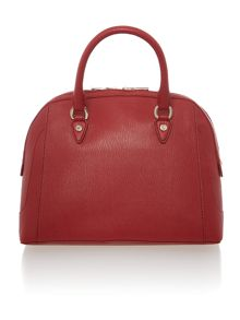 Red large dome bag