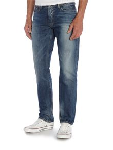 Ryan Peb Medium Wash Mid Rise Jeans