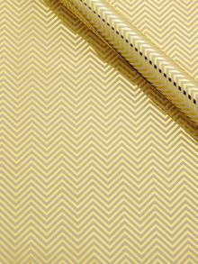 Gold chevron wrapping paper