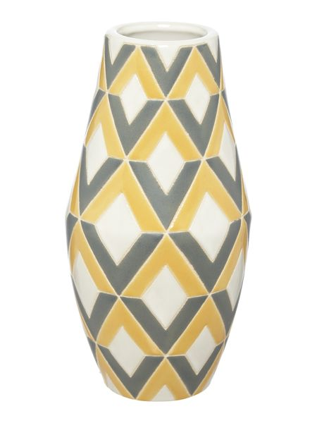 Living by Christiane Lemieux Geometric printed vase
