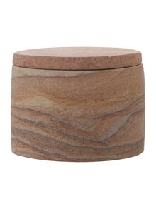 Casa Couture Sandstone Canister