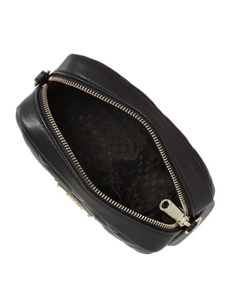 DKNY Quilted black small cross body bag