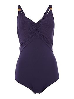 Montreal Underwired Twist Front swimsuit