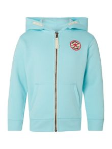 Girls All Star Logo Zip Hoody