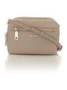 Tribeca taupe small cross body bag