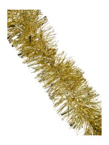 Chunky gold tinsel