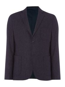Linea Brooks Textured Blazer