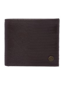 Fred Perry Leather Embossed Bilfold Wallet