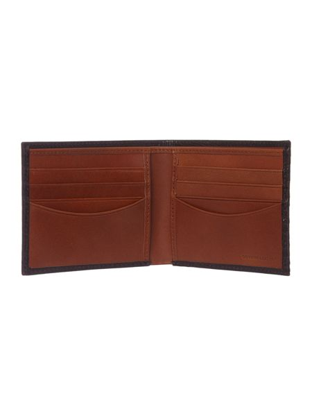Fred Perry Fred Perry Leather Embossed Bilfold Wallet