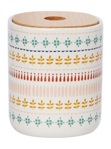 Dickins & Jones Printed Ceramic Storage Jar