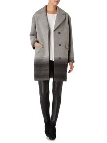 Linea Weekend Ombre Coast Wool Coat