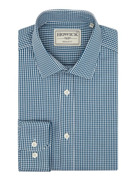 Howick Tailored Farnell Small Gingham Shirt