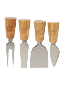 Linea Block of Cheese Knives