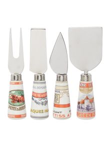 Linea Set of 4 cheese knives