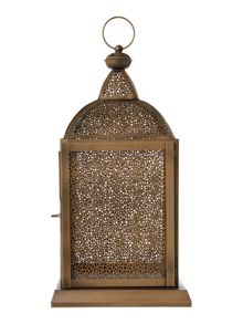 Alhambra metal lantern rectangle