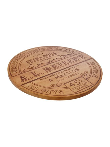 Linea Wooden cheese platter