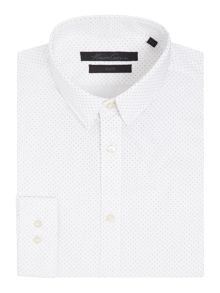 Kenneth Cole Reed Polka Dot Print Shirt