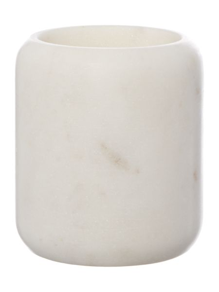 Gray & Willow Marble tumbler