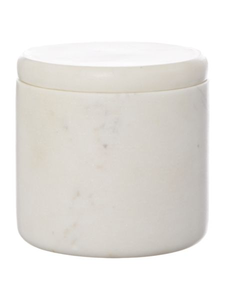 Gray & Willow Marble canister