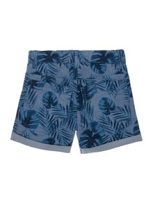 name it Boys Palm Tree Printed Shorts