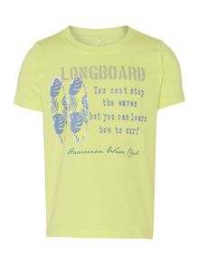 name it Boys Long Board T-Shirt