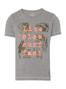 name it Boys Live Slow Surf Fast T-Shirt