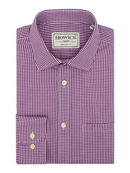 Howick Tailored Broomall Gingham Check Shirt