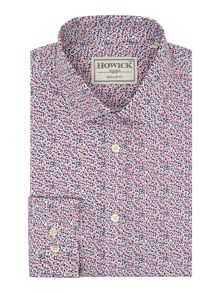 Howick Tailored Atlanta Ditsy Floral Print Shirt