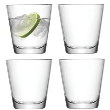 Wine Casual Water Glass 340ml Clear x 4