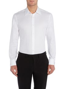New & Lingwood Grantham Royal Oxford Double Cuff Shirt