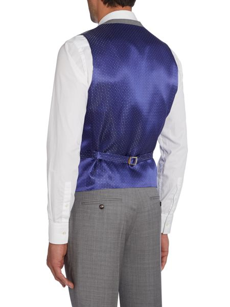 Ted Baker Modhus Slim Fit Textured Waistcoat